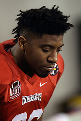 11 December 2015:  Nate Bond(36). NCAA FCS Quarter Final Football Playoff game between Richmond Spiders and Illinois State Redbirds at Hancock Stadium in Normal IL (Photo by Alan Look)