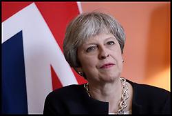 April 17, 2018 - London, London, United Kingdom - Theresa May and the President of Cyprus Nicos Anastasiades. British Prime Minister Theresa May and the President of Cyprus Nicos Anastasiades at No.10 Downing Street, London, UK. (Credit Image: © i-Images via ZUMA Press)