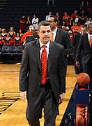 Nov 6, 2010; Charlottesville, VA, USA; Virginia head coach Tony Bennett Saturday afternoon in exhibition action at John Paul Jones Arena. The Virginia men's basketball team recorded an 82-50 victory over Roanoke College.