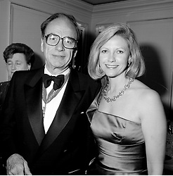 RUPERT MURDOCH and his 2nd wife ANNA at a ball in London in 1988.<br /> JSE 25