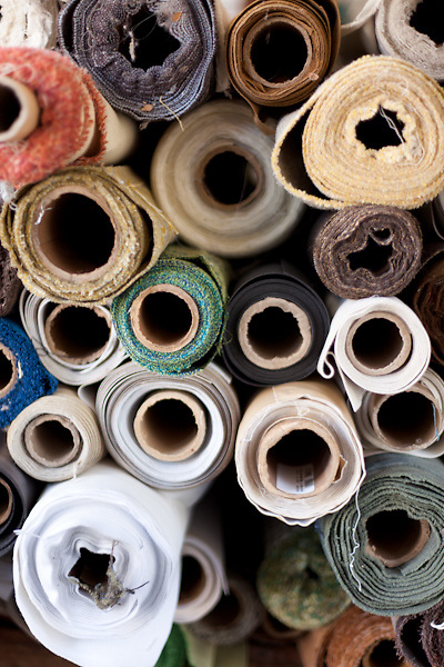Modern Fabrics is the only brick and mortar fabric shop in Charlotte, NC that sells re-purposed fabric.