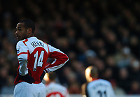 Photo: Javier Garcia/Back Page Images<br />Arsenal v Fulham, FA Barclays Premiership, Highbury, 26/12/04<br />Thierry Henry