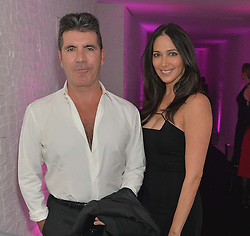 SIMON COWELL and LAUREN SILVERMAN at The London Cabaret Club Gala Launch Party at The Collection, 264 Brompton Road, London on 8th May 2014.