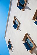 Windows of Essaouira, Morocco