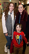 31/01/2018  retro free : Caoimhe Shanagher, Roscommon with  Noelleen and Finn Conway from Galway at the launch of Wide Eyes, a unique one-off European arts extravaganza for babies and children aged 0 – 6. Hosted by Baboró, Wide Eyes will take place in Galway till Sun 4 February. This imaginative programme will feature 15 new theatre and dance shows from some of Europe's finest creators of Early Years work from Austria, Belgium, Denmark, Finland, France, Germany, Hungary, Italy, Poland, Romania, Slovenia, Spain, Sweden, UK and Ireland. For more see www.wideeyesgalway.ie<br /> <br /> Wide Eyes will welcome almost 200 artists and arts professionals from almost 20 countries to enthral and engage children over four jam-packed days. Photo:Andrew Downes, XPOSURE