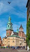Kraków 2019-09-10. Królewska Bazylika Archikatedralna św. św. Stanisława i Wacława na Wawelu w Krakowie, Polska<br /> Royal Archcathedral Basilica of Saints Stanislaus and Wenceslaus on the Wawel Hill in Cracow, Poland