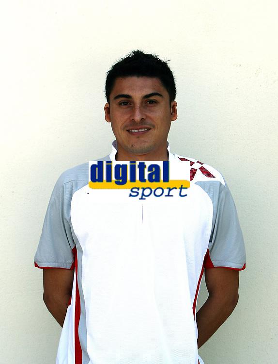 Fotball   18 mars  2007  <br /> La Manga<br /> Portretter Adeccoligaen<br /> FK Haugesund<br /> Foto: Dagfinn Limoseth, Digitalsport <br /> <br /> Carlos Castro