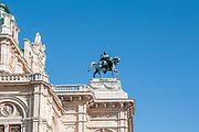 Vienna Opera house. Details