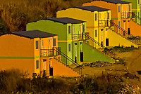 Housing blocks in Soweto (formerly 38 townships, the South Western Townships were renamed Soweto in 1963),  Johannesburg, South Africa