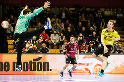 Tajnik Domen of RK Gorenje Velenje during handball match between RK Gorenje Velenje and Abanca Ademar Leon in Round #32 of EHF Cup 2019/20, 28 February, 2020 in Rdeca Dvorana, Velenje Slovenia. Photo By Grega Valancic / Sportida