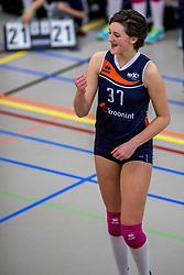 31-03-2018 NED: Finale C Volleybaldirect Open, Wognum<br /> 16 teams van meisjes en jongens C streden om het Nederlands Kampioenschap / Next Volley Dordrecht - Dagmar
