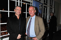 Left to right, HAYDEN TURNER and RICHARD BONHAM at a dinner in aid of the charity Save The Rhino held at ZSL London Zoo, Regents Park, London NW1 on 16th November 2011.