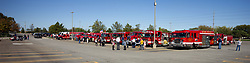 The annual Chief Del Thomas Fire Truck Parade