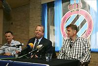 Fotball<br /> Belgia<br /> Foto: PhotoNews/Digitalsport<br /> NORWAY ONLY<br /> <br /> BRUGGE BRUGES 01/07/2005<br /> <br /> CLUB BRUGGE - FC BRUGES / MARC DEGRYSE -<br /> MICHEL D'HOOGHE - JAN CEULEMANS