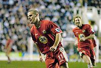 Photo: Gareth Davies.<br />Reading v Blackburn Rovers. The Barclays Premiership. 16/12/2006.<br />Blackburn's David Bentley celebrates the winning goal in his teams 2-1 win over Reading.