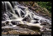 Waterfall at Antietam Lake<br /> Reading, PA<br /> July 2013