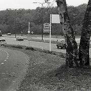 NLD/Soesterberg/1988 - Plek waar een schutter een voorbijganger automobilist heeft doodgeschoten