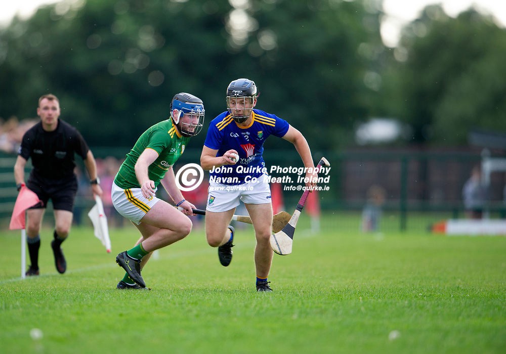 13-07-21. Meath v Wicklow - Leinster U-20 B Hurling Championship (Richie McElligott Cup) 2021 at St. Loman's Park, Trim.<br /> Tim Byrne, Wicklow in action against Meath in the Leinster U-20 B Hurling Championship (Richie McElligott Cup) 2021<br /> Photo: John Quirke / www.quirke.ie<br /> ©John Quirke Photography, 16 Proudstown Road, Navan. Co. Meath. (info@quirke.ie / 046-9028461 / 087-2579454).