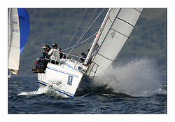 Bell Lawrie Scottish Series 2008. Fine North Easterly winds brought perfect racing conditions in this years event..Class 4 Pure Magic GBR1335