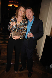 LORD & LADY LLOYD-WEBBER at a party to celebrate the publication of Michael Winner's new book 'Fat Pig Diet' held at The Belvedere, Holland Park, London on 17th October 2007.<br />