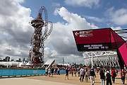 At the Olympic Park on Day 7 of London 2012