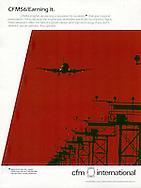 CFM International plane landing