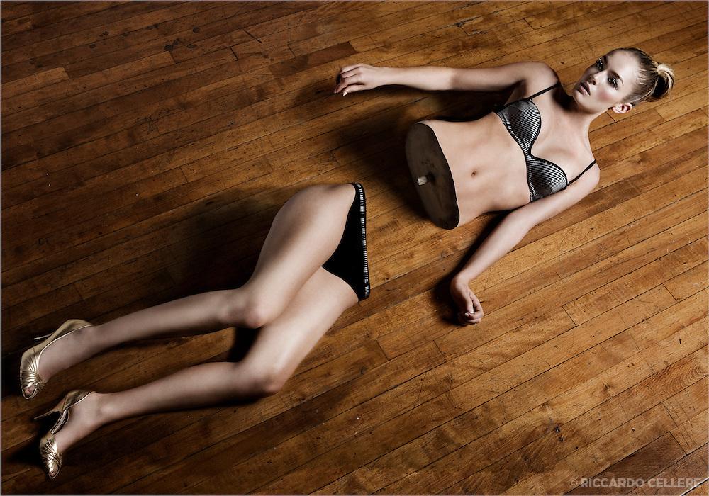 "Composite fashion photography. ""American Woman"". 2008. <br /> <br /> Make-up: Maya Goldenberg<br /> Model: Billie Jazz"