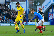 Anthony Wordsworth (40) of AFC Wimbledon during the EFL Sky Bet League 1 match between Portsmouth and AFC Wimbledon at Fratton Park, Portsmouth, England on 1 January 2019.