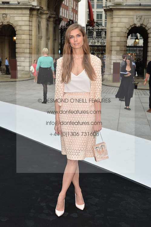 SOPHIE HULME at the Royal Academy of Arts Summer Exhibition Preview Party at The Royal Academy of Arts, Burlington House, Piccadilly, London on 7th June 2016.