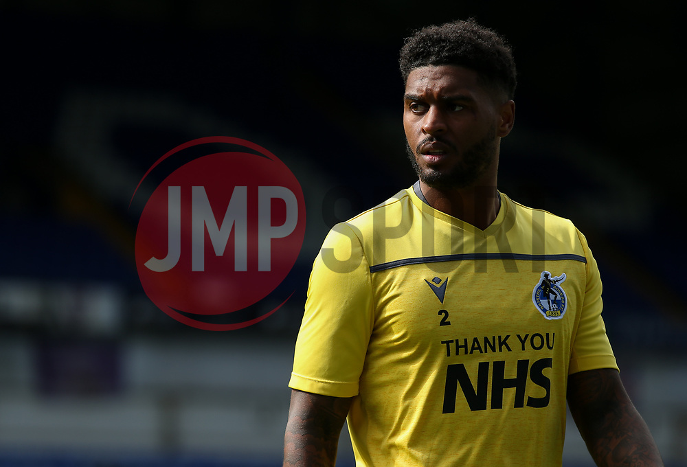 Mark Little of Bristol Rovers during the warm up - Mandatory by-line: Arron Gent/JMP - 05/09/2020 - FOOTBALL - Portman Road - Ipswich, England - Ipswich Town v Bristol Rovers - Carabao Cup