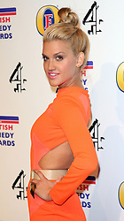 ASHLEY ROBERTS attends the British Comedy Awards at Fountain Studios, London, England, December 12, 2012. Photo by i-Images.