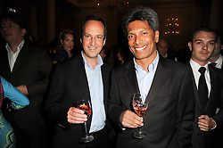 Left to right, David Loewi and Des Gunewardena at the Tatler Restaurant Awards, at the Langham Hotel, Portland Place, London n 10th May 2010.