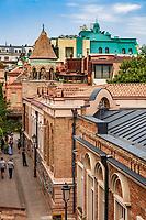 Tbilisi , Georgia - August 25, 2019 :  street in the old town landmark of Tbilisi Georgia capital city eastern Europe