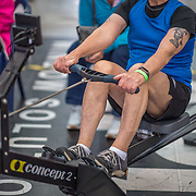 George Venemore  MALE HEAVYWEIGHT Masters L 1K Race #10  11:30am<br /> <br /> <br /> www.rowingcelebration.com Competing on Concept 2 ergometers at the 2018 NZ Indoor Rowing Championships. Avanti Drome, Cambridge,  Saturday 24 November 2018 © Copyright photo Steve McArthur / @RowingCelebration