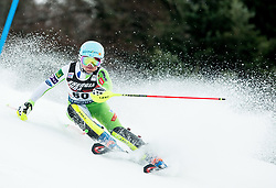 """Meta Hrovat (SLO) competes during 1st Run of FIS Alpine Ski World Cup 2017/18 Ladies' Slalom race named """"Snow Queen Trophy 2018"""", on January 3, 2018 in Course Crveni Spust at Sljeme hill, Zagreb, Croatia. Photo by Vid Ponikvar / Sportida"""