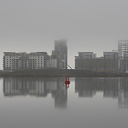 New development on Leith Waterfront, Edinburgh, Scotland