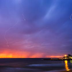 Dee Why Beach sunrise 1 May 2016.