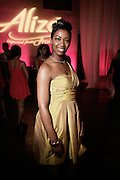 """Felicia Fletcher, Alize Diamond Awardee at The Ludacris Foundation 5th Annual Benefit Dinner & Casino Night sponsored by Alize, held at The Foundry at Puritan Mill in Atlanta, Ga on May 15, 2008.. Chris """"Ludacris"""" Bridges, William Engram and Chaka Zulu were the inspiration for the development of The Ludacris Foundation (TLF). The foundation is based on the principles Ludacris learned at an early age: self-esteem, spirituality, communication, education, leadership, goal setting, physical activity and community service. Officially established in December of 2001, The Ludacris Foundation was created to make a difference in the lives of youth. These men have illustrated their deep-rooted tradition of community service, which has broadened with their celebrity status. The Ludacris Foundation is committed to helping youth help themselves."""