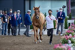 Zeyada Mouda, EGY, Galanthos SHK, 333<br /> Olympic Games Tokyo 2021<br /> © Hippo Foto - Dirk Caremans<br /> 31/07/2021