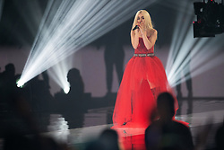 Ava Max performs on stage during the MTV EMAs 2019 at FIBES Conference and Exhibition Centre on November 03, 2019 in Seville, Spain.<br /> Photo by ABACAPRESS.COM