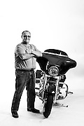 Richard Milligan<br /> Army National Guard<br /> E-5<br /> Jan. 14, 1969 - Feb. 13, 1979<br /> Heavy Equipment Operator<br /> Gunner<br /> Vietnam War<br /> <br /> Veterans Portrait Project<br /> Laconia, NH<br /> Laconia Bike Week