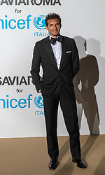 Riccardo Pozzoli arriving at a photocall for the Unicef Summer Gala Presented by Luisaviaroma at Villa Violina on August 10, 2018 in Porto Cervo, Italy. Photo by Alessandro Tocco/ABACAPRESS.COM