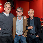 NLD/Bussum/20190306  - boekpresentatie 50 jaar Nederlandse popcultuur van Lex Harding, Adam Curry, Erik de Zwart, Lex Harding