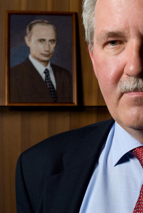 Former Russian ambassador in Greece Andrey Valentinovich Vdovin for  Epsilon magazine - Greece