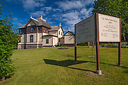 Mather Walls House. Historic building.<br />