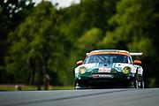 August 4-6, 2011. American Le Mans Series, Mid Ohio. 77 Magnus Racing, John Potter, Craig Stanton, Porsche 997 GT3 Cup