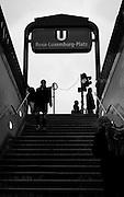 Berlin, GERMANY,  General views, GV's, Rosa Luxemburg Platz, U Bahn  Station,  Berlin, Friday, 19/12/2008.  [Mandatory Credit/Peter Spurrier] Street Photos