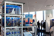 Evan Joseph photography merchandise and books as displayed at the Gallery at One World Observatory in New York City.