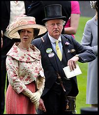 Princess Anne at Ascot 20-6-12