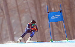 Great Britain's James Whitley in the Men's Downhill, Standing at the Jeongseon Alpine Centre during day one of the PyeongChang 2018 Winter Paralympics in South Korea.